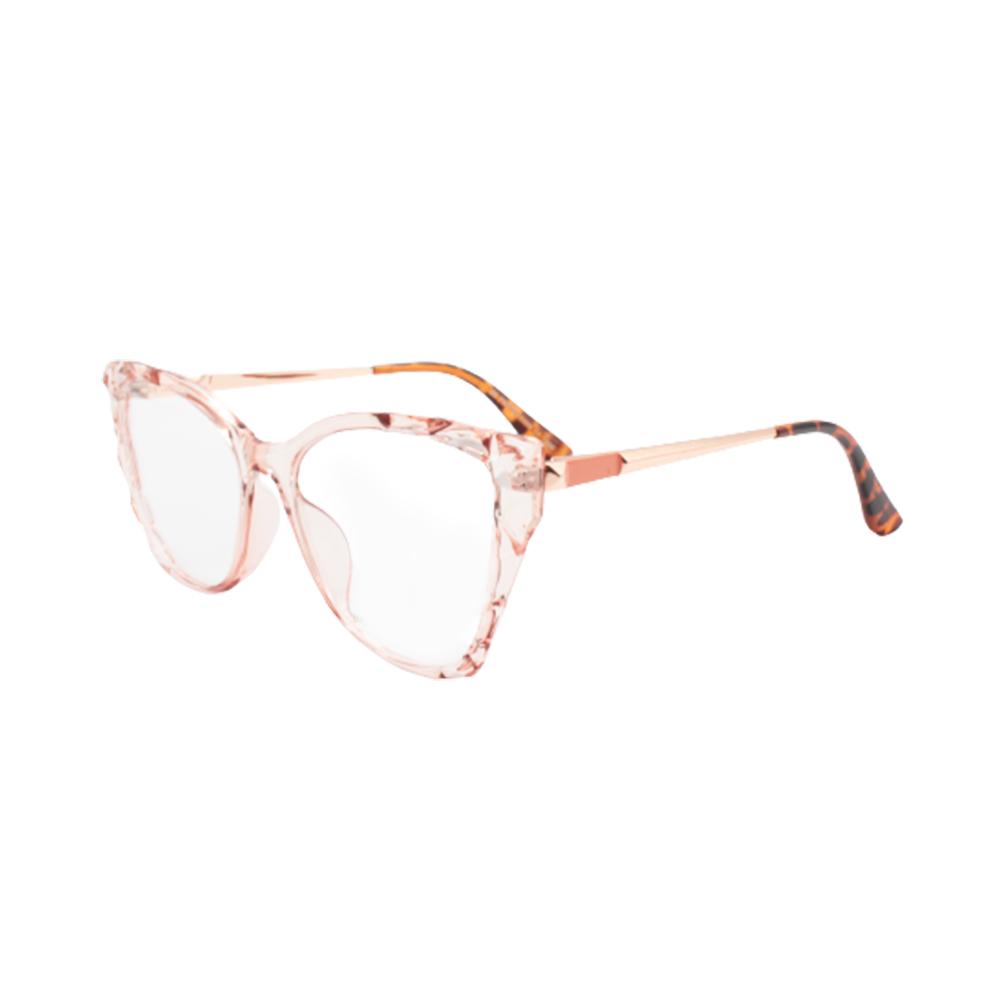 Armação para Óculos de Grau Feminino BR5744-C2 Nude Translúcida