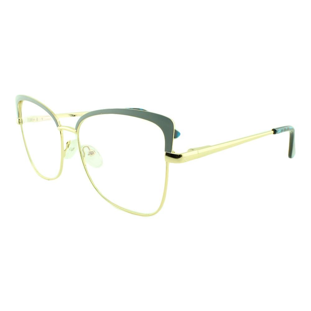 Armação para Óculos de Grau Feminino BR8011 Azul