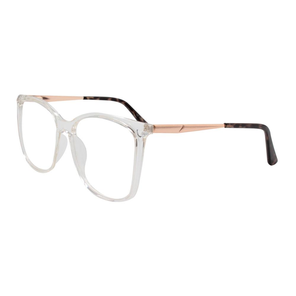 Armação para Óculos de Grau Feminino BR98218-C1 Transparente