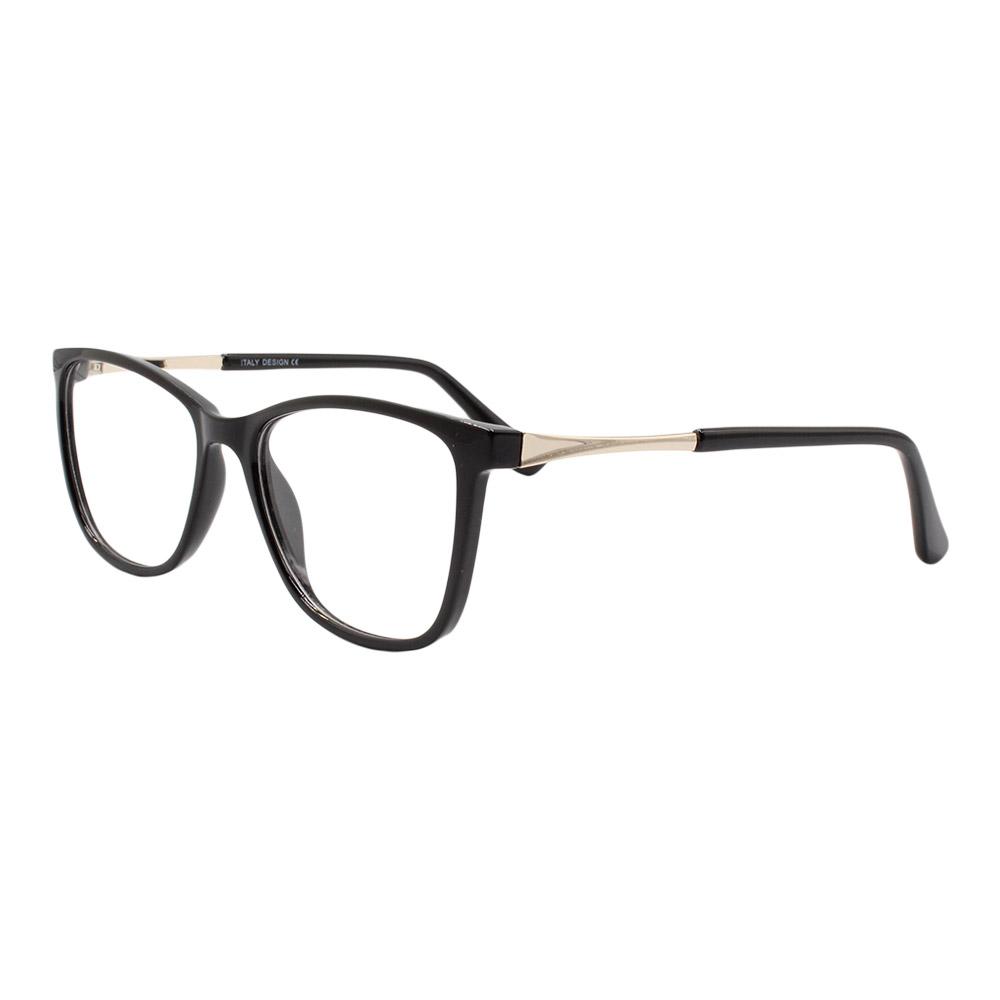 Armação para Óculos de Grau Feminino BR99066 Preta