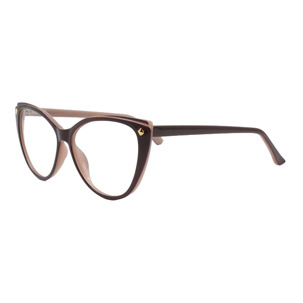 Armação para Óculos de Grau Feminino CFA5019 Marrom