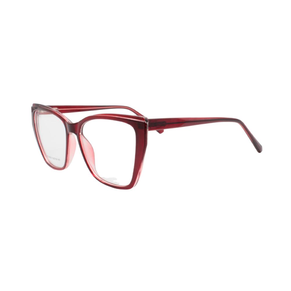 Armação para Óculos de Grau Feminino CFA5021 Vermelha