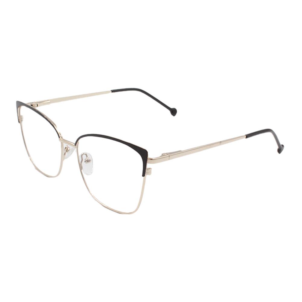 Armação para Óculos de Grau Feminino CFB7000 Dourada e Preta