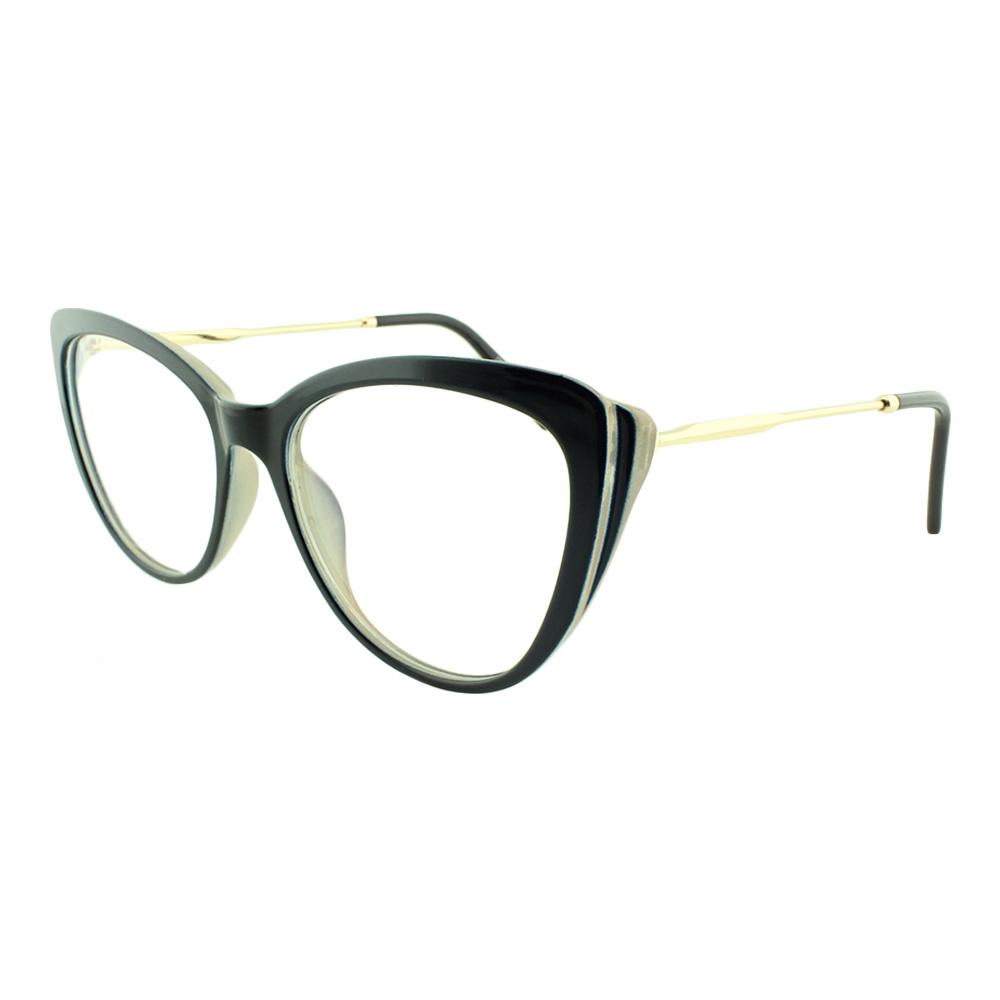 Armação para Óculos de Grau Feminino DO22061 Preta