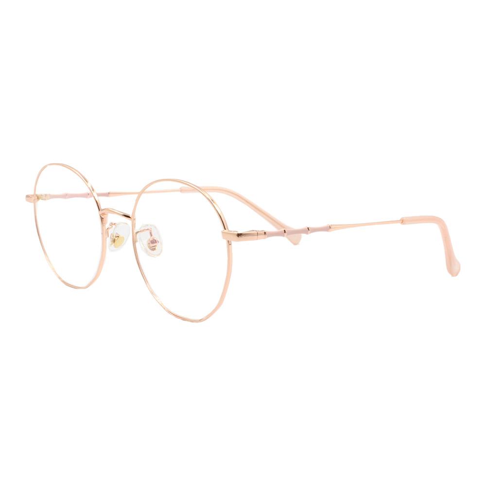 Armação para Óculos de Grau Feminino DZ219 Dourada