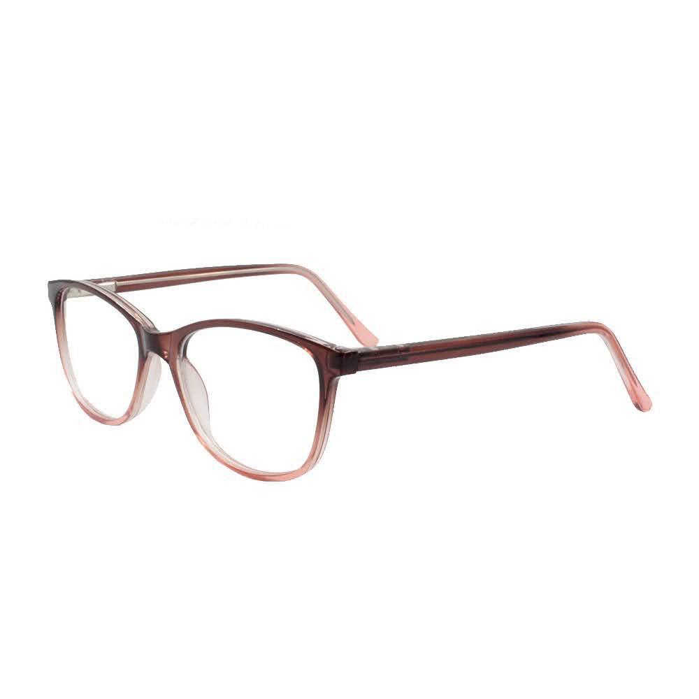 Armação para Óculos de Grau Feminino FB04001 Marrom Degradê