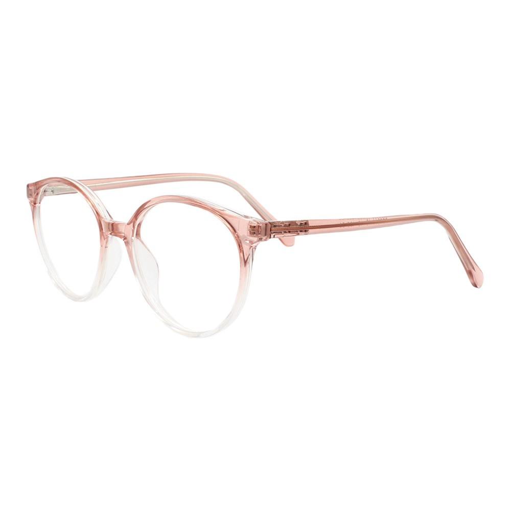 Armação para Óculos de Grau Feminino FD3344 Rosa Degradê