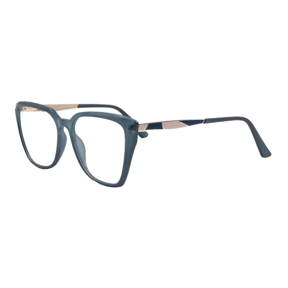 Armação para Óculos de Grau Feminino FD633049 Azul