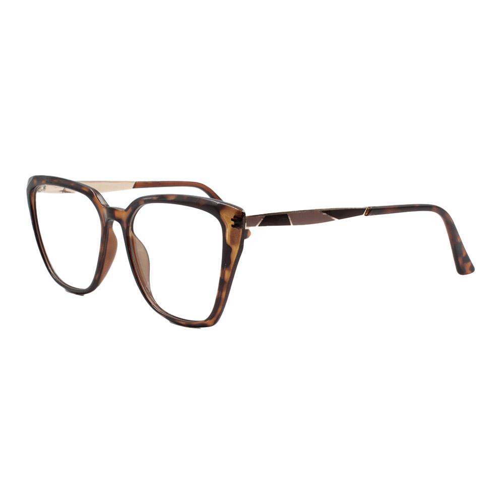 Armação para Óculos de Grau Feminino FD633049 Mesclada