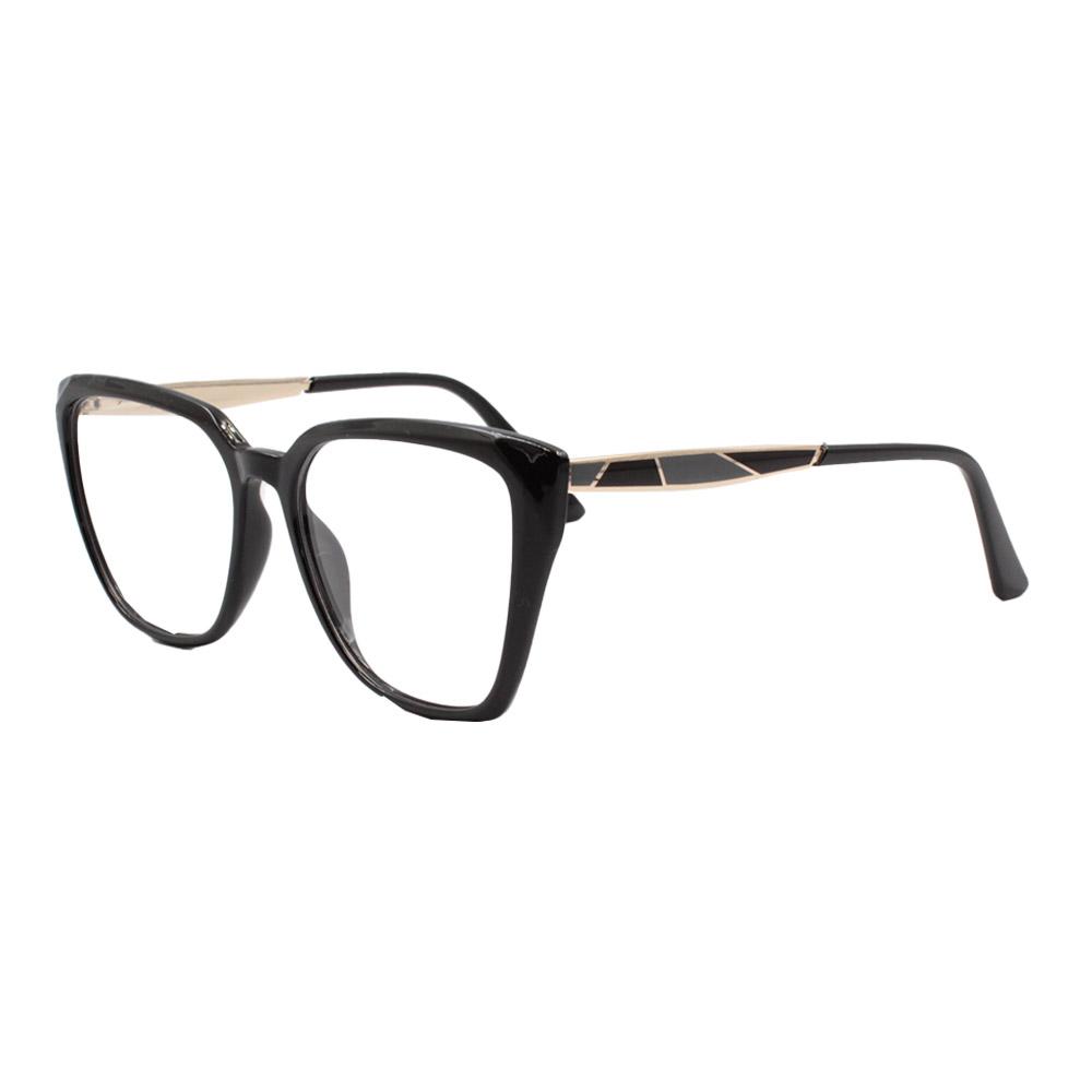 Armação para Óculos de Grau Feminino FD633049 Preta