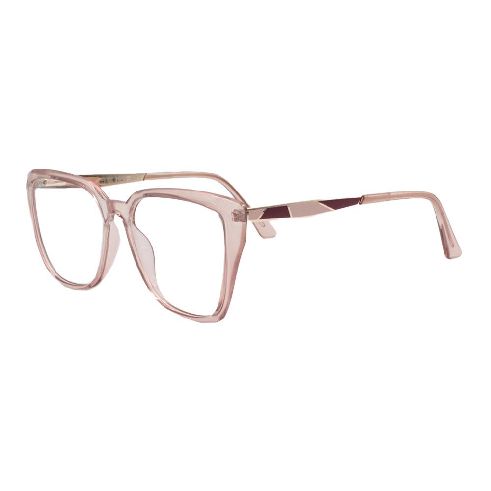 Armação para Óculos de Grau Feminino FD633049 Rosa