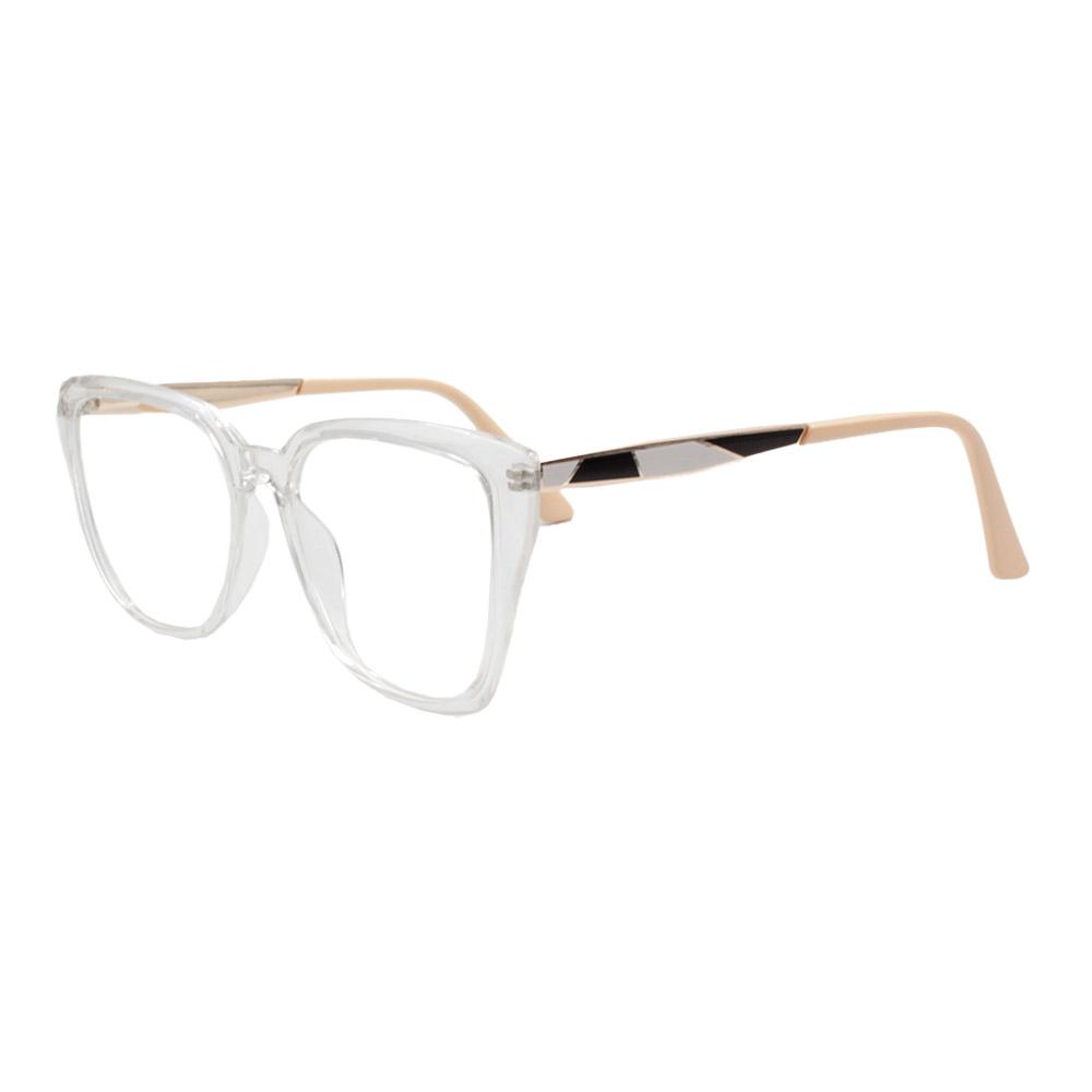 Armação para Óculos de Grau Feminino FD633049 Transparente