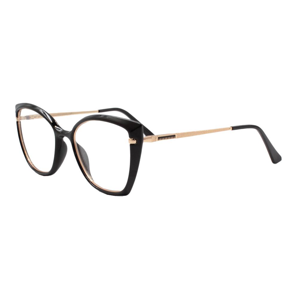 Armação para Óculos de Grau Feminino FD633056 Preta