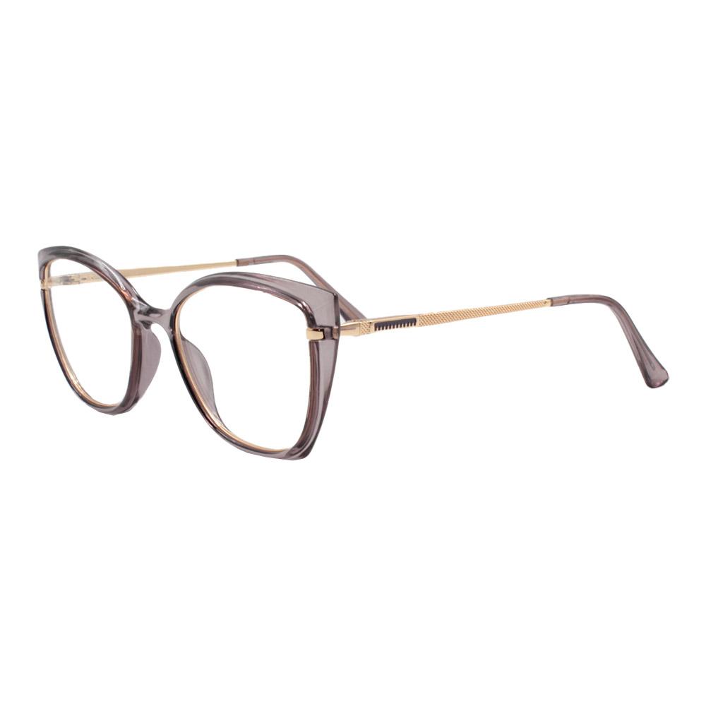 Armação para Óculos de Grau Feminino FD633056 Roxa