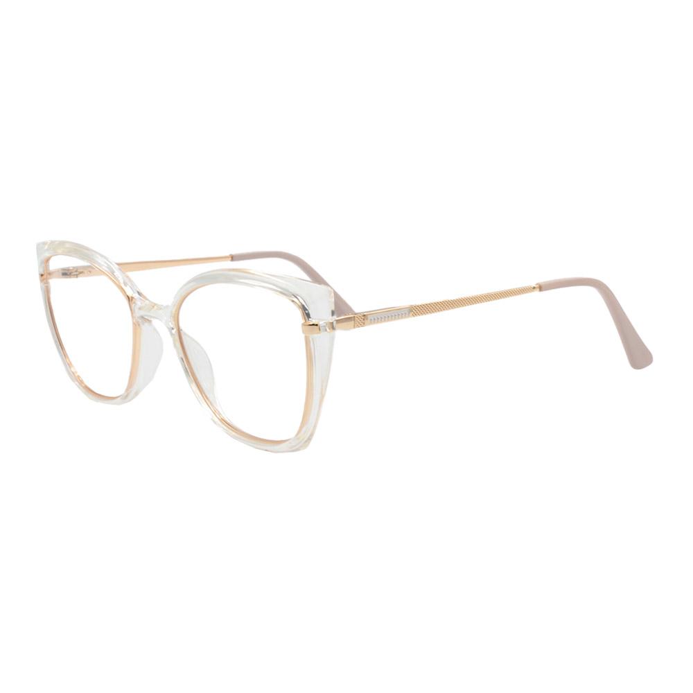 Armação para Óculos de Grau Feminino FD633056 Transparente