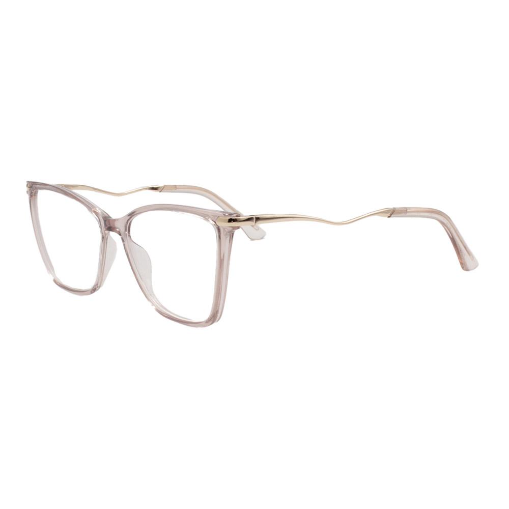 Armação para Óculos de Grau Feminino FD633092 Nude