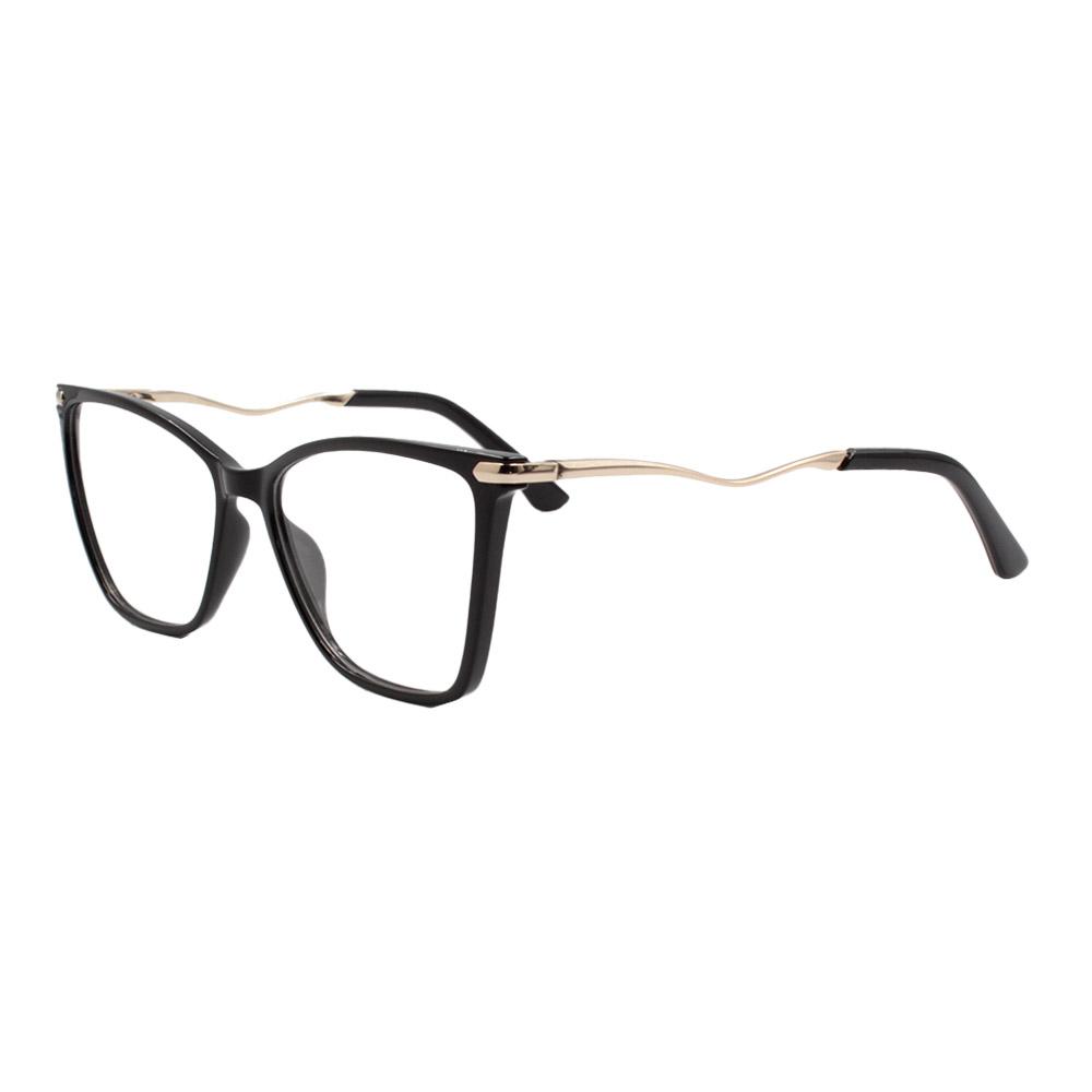 Armação para Óculos de Grau Feminino FD633092 Preta