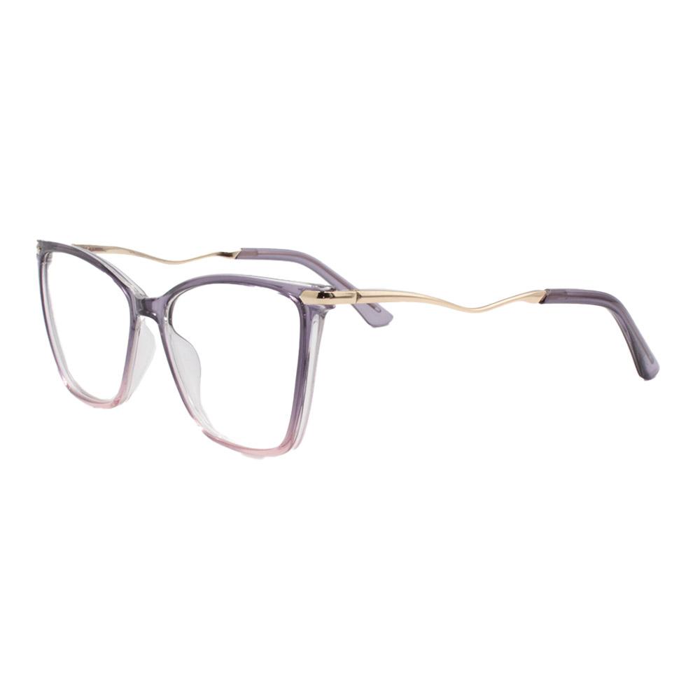 Armação para Óculos de Grau Feminino FD633092 Roxa