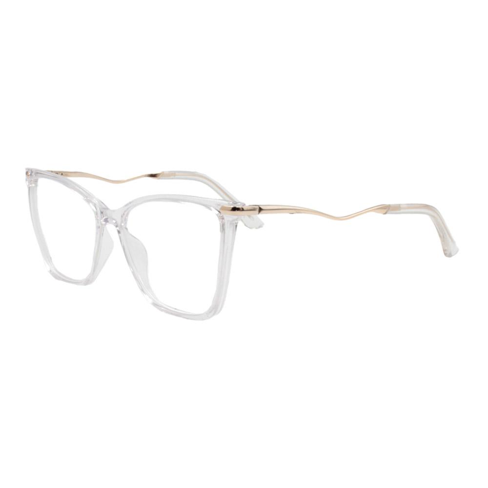 Armação para Óculos de Grau Feminino FD633092 Transparente