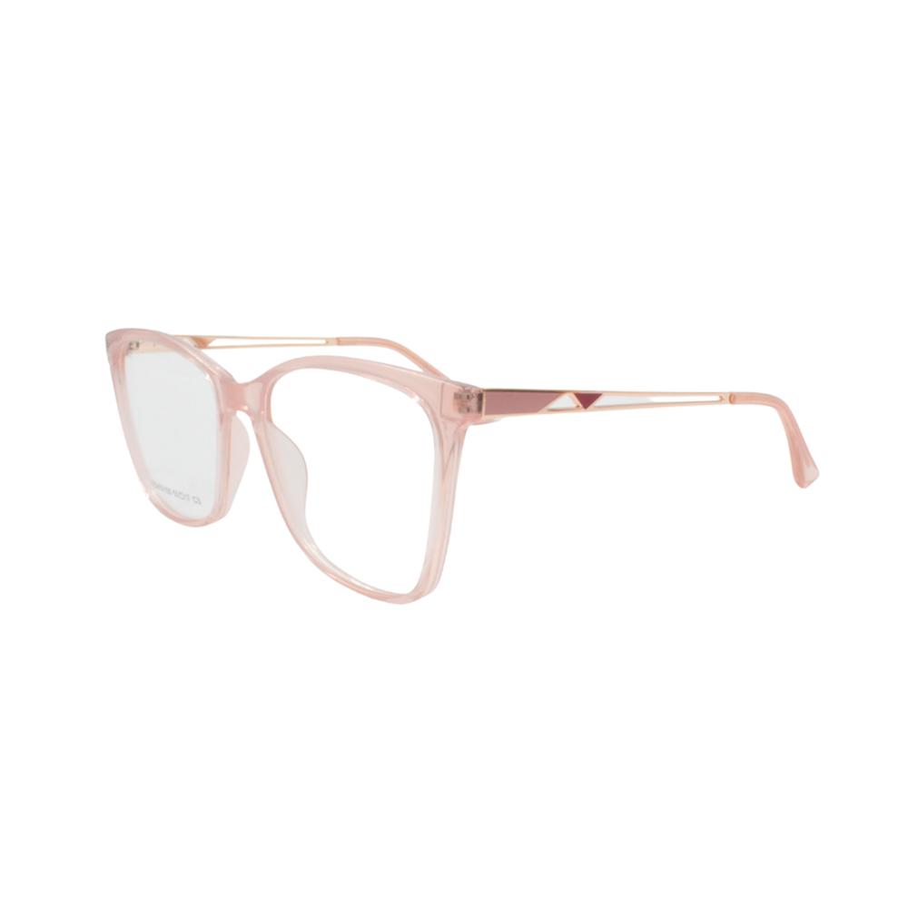 Armação para Óculos de Grau Feminino FD633105-C3 Rosa