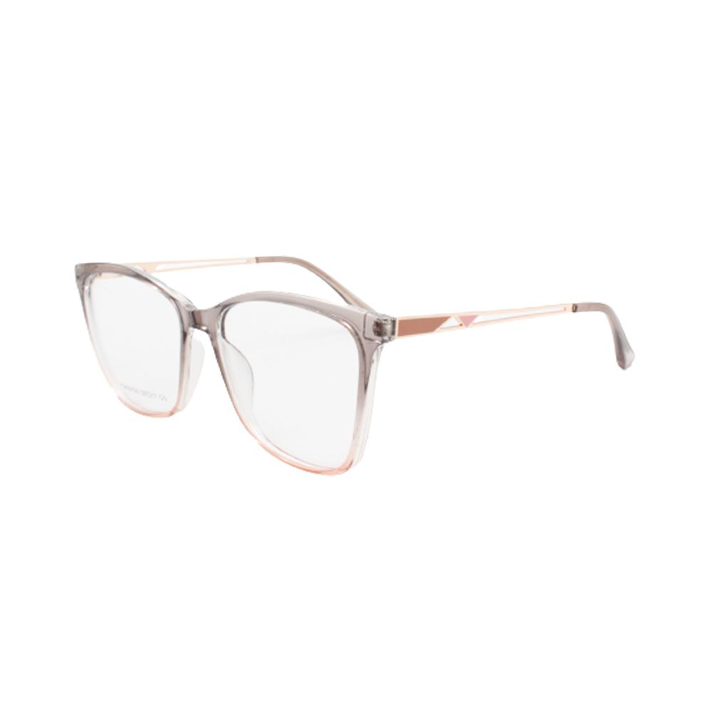 Armação para Óculos de Grau Feminino FD633105-C5 Cinza e Rosa