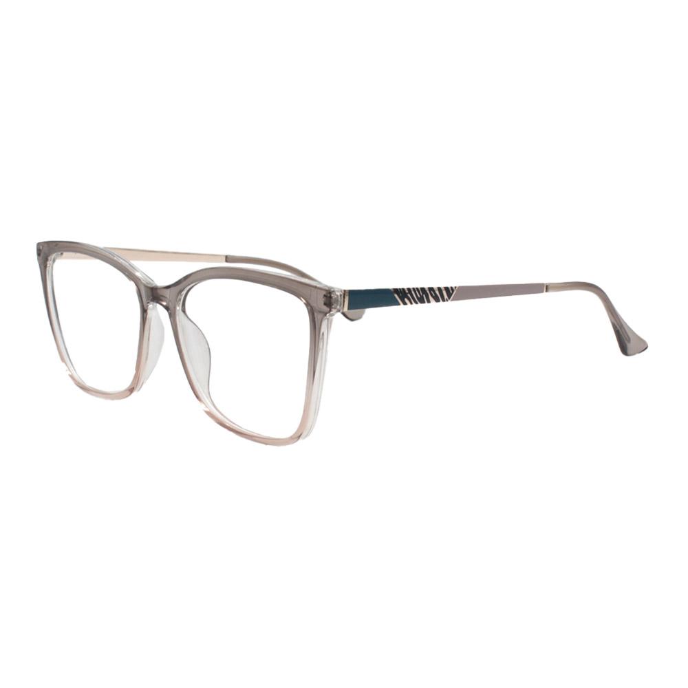 Armação para Óculos de Grau Feminino FD633107 Fumê