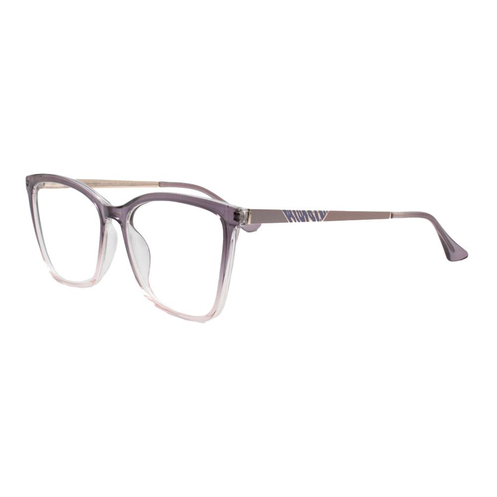 Armação para Óculos de Grau Feminino FD633107 Roxa