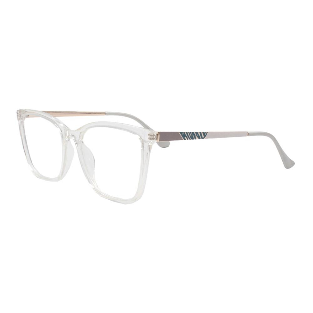 Armação para Óculos de Grau Feminino FD633107 Transparente