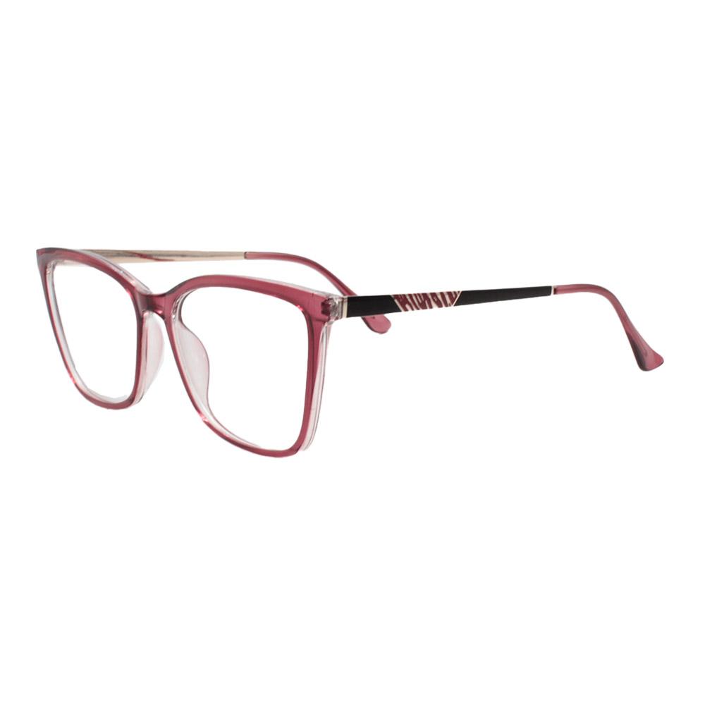 Armação para Óculos de Grau Feminino FD633107 Vermelha