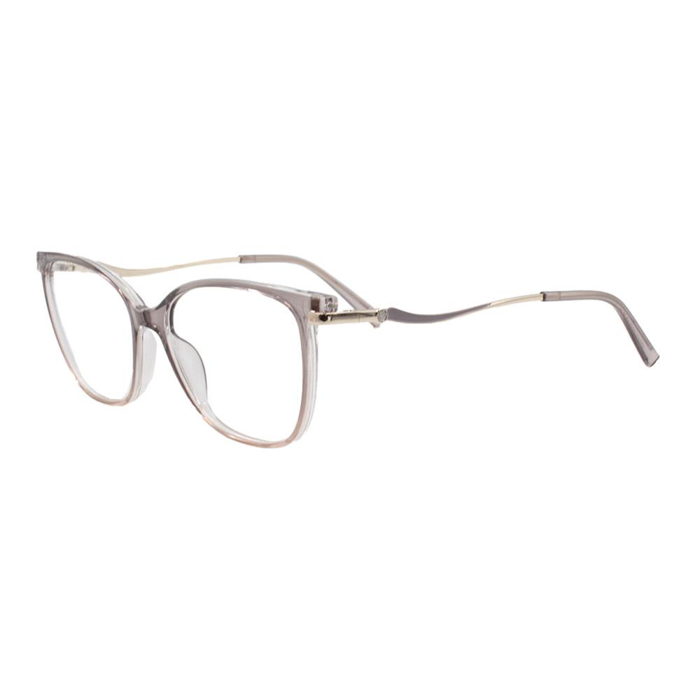 Armação para Óculos de Grau Feminino FD633112 Fumê