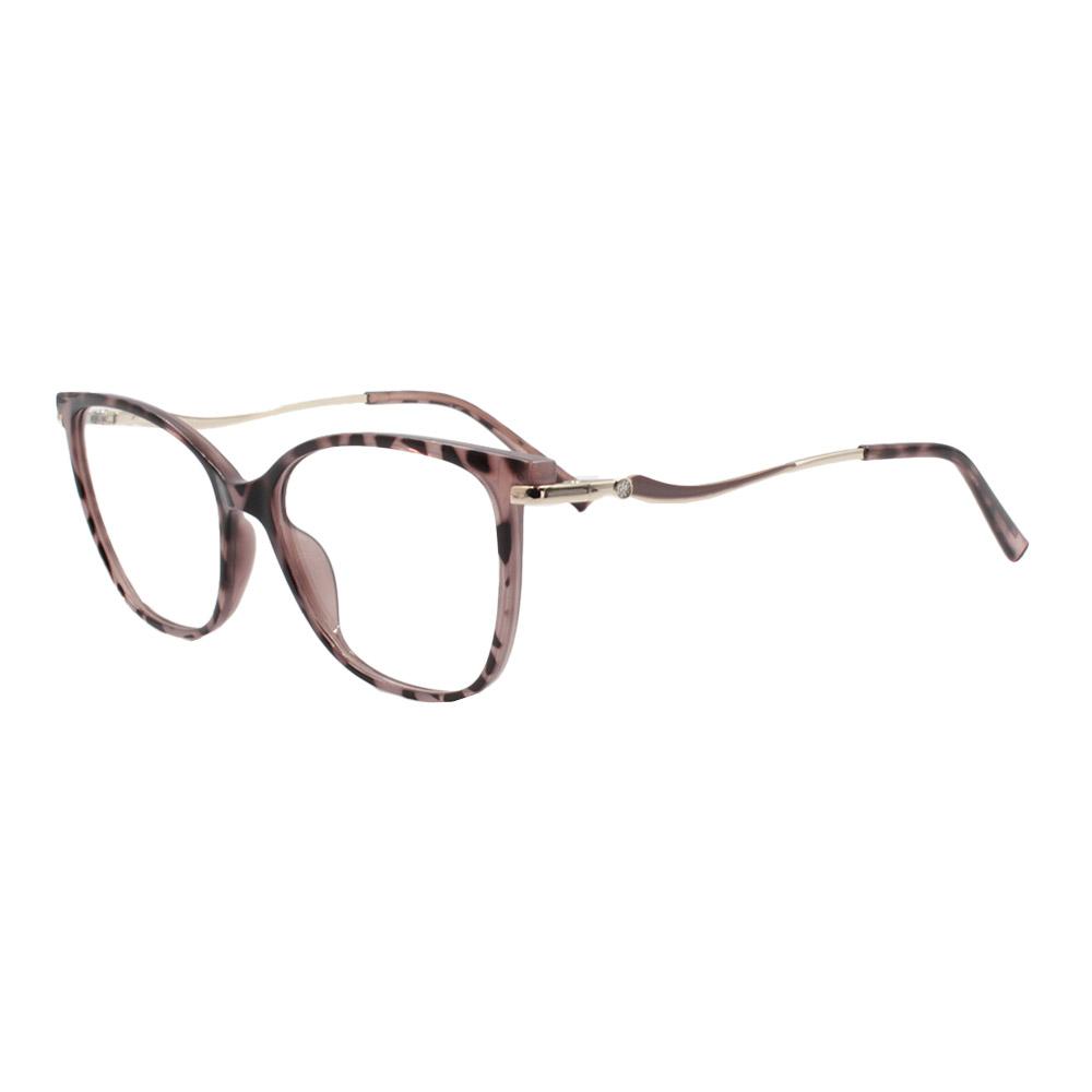 Armação para Óculos de Grau Feminino FD633112 Mesclada