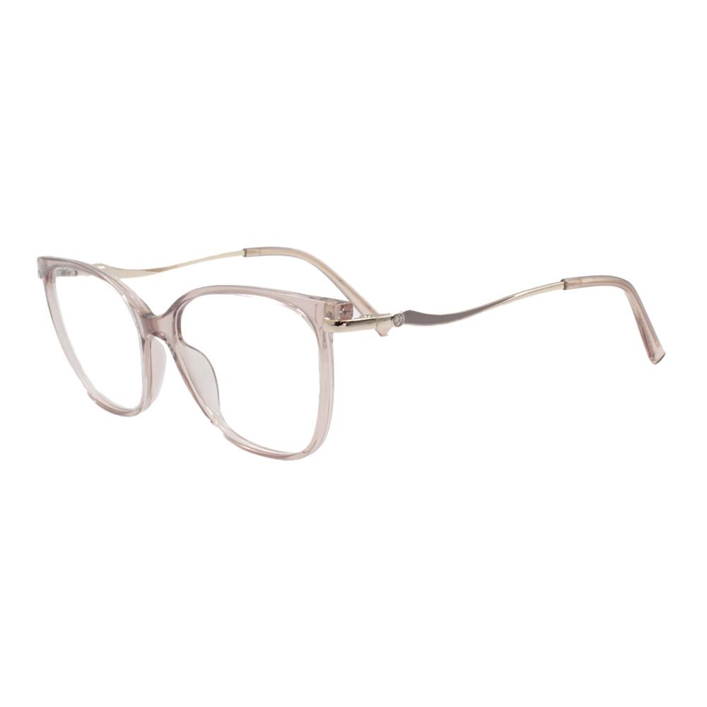 Armação para Óculos de Grau Feminino FD633112 Nude