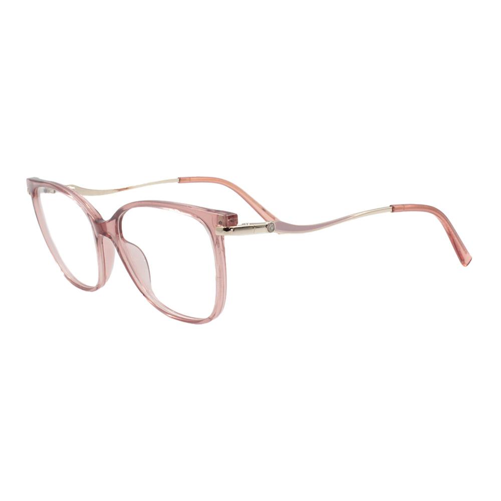Armação para Óculos de Grau Feminino FD633112 Rosa