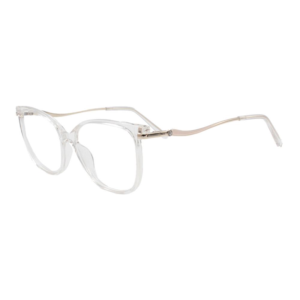 Armação para Óculos de Grau Feminino FD633112 Transparente
