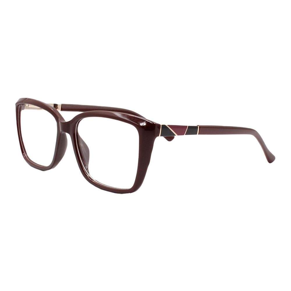 Armação para Óculos de Grau Feminino FD6333 Marrom