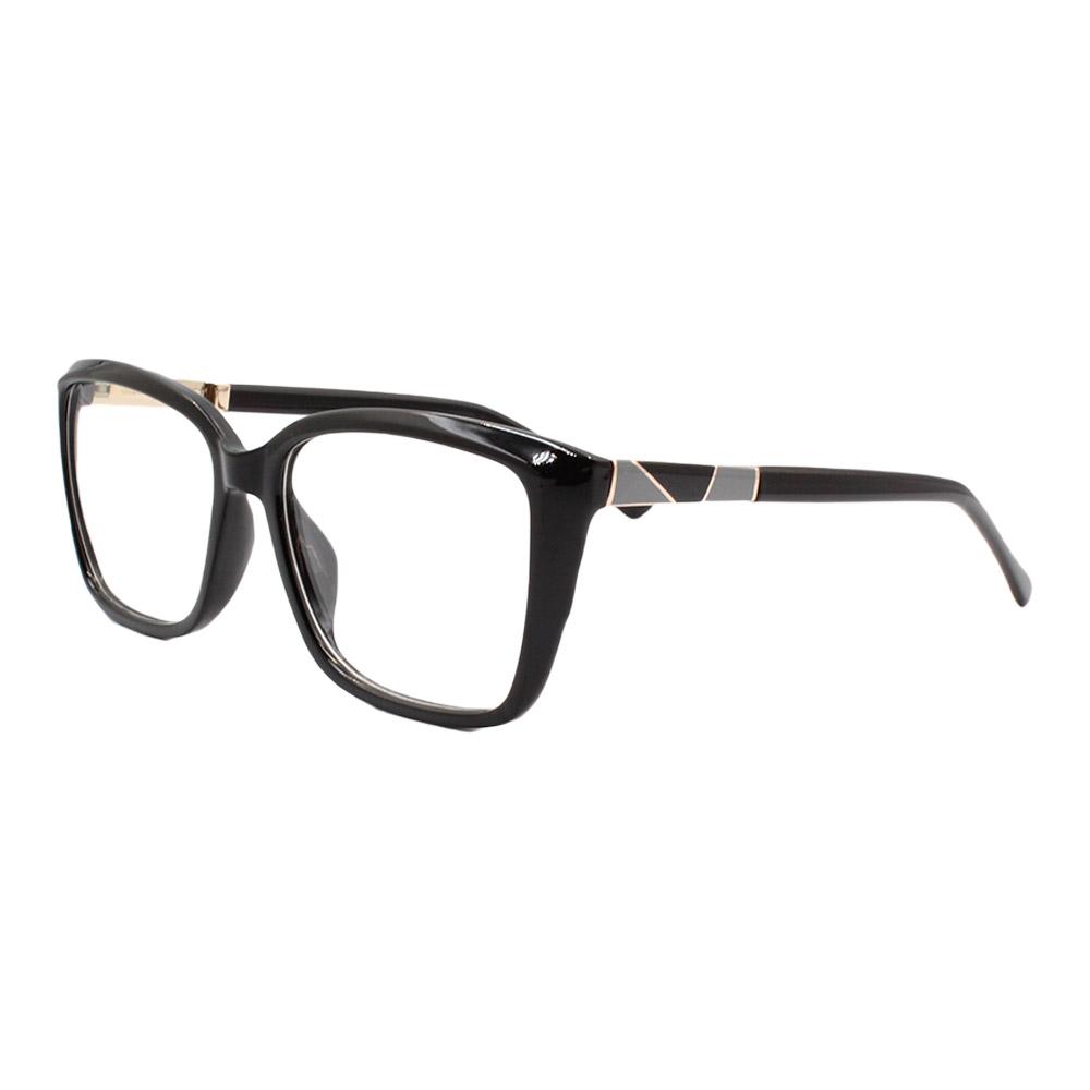 Armação para Óculos de Grau Feminino FD6333 Preta