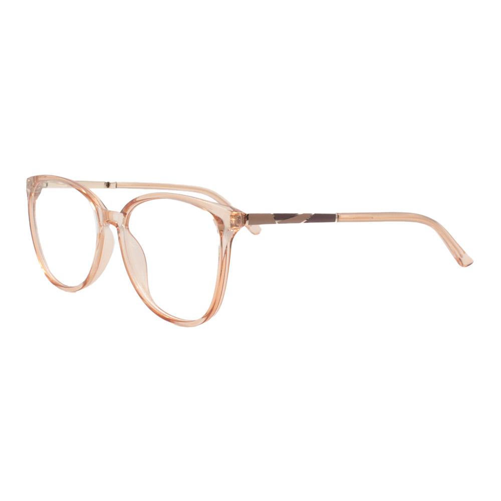 Armação para Óculos de Grau Feminino FD6336 Laranja