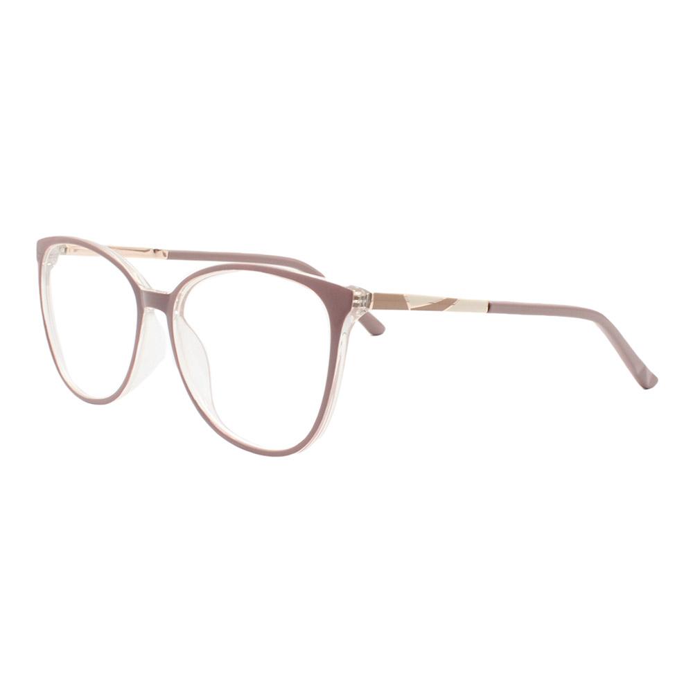 Armação para Óculos de Grau Feminino FD6336 Nude