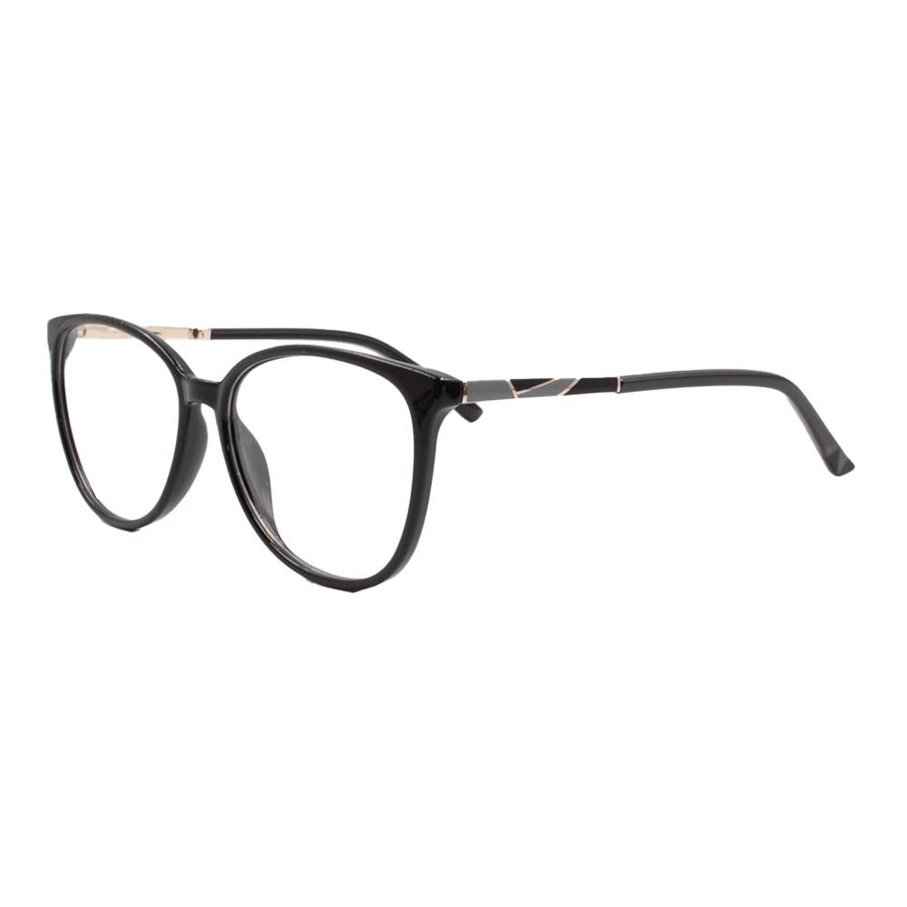 Armação para Óculos de Grau Feminino FD6336 Preta
