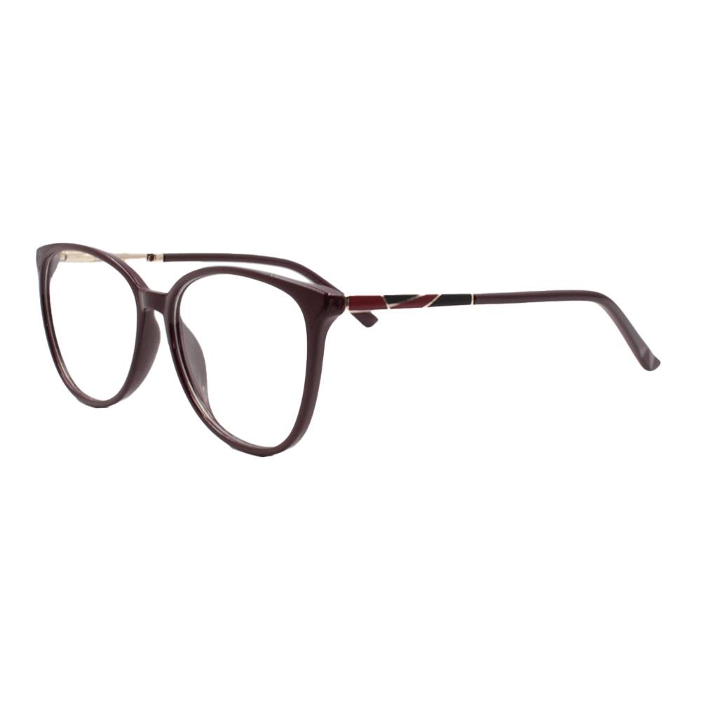 Armação para Óculos de Grau Feminino FD6336 Vinho