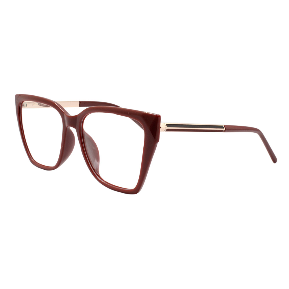 Armação para Óculos de Grau Feminino FD8905 Vinho