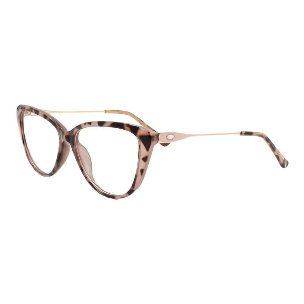 Armação para Óculos de Grau Feminino FD8906 Mesclada