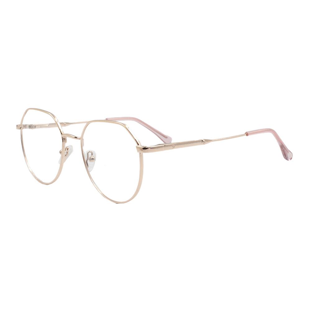 Armação para Óculos de Grau Feminino ISA1037 Dourada