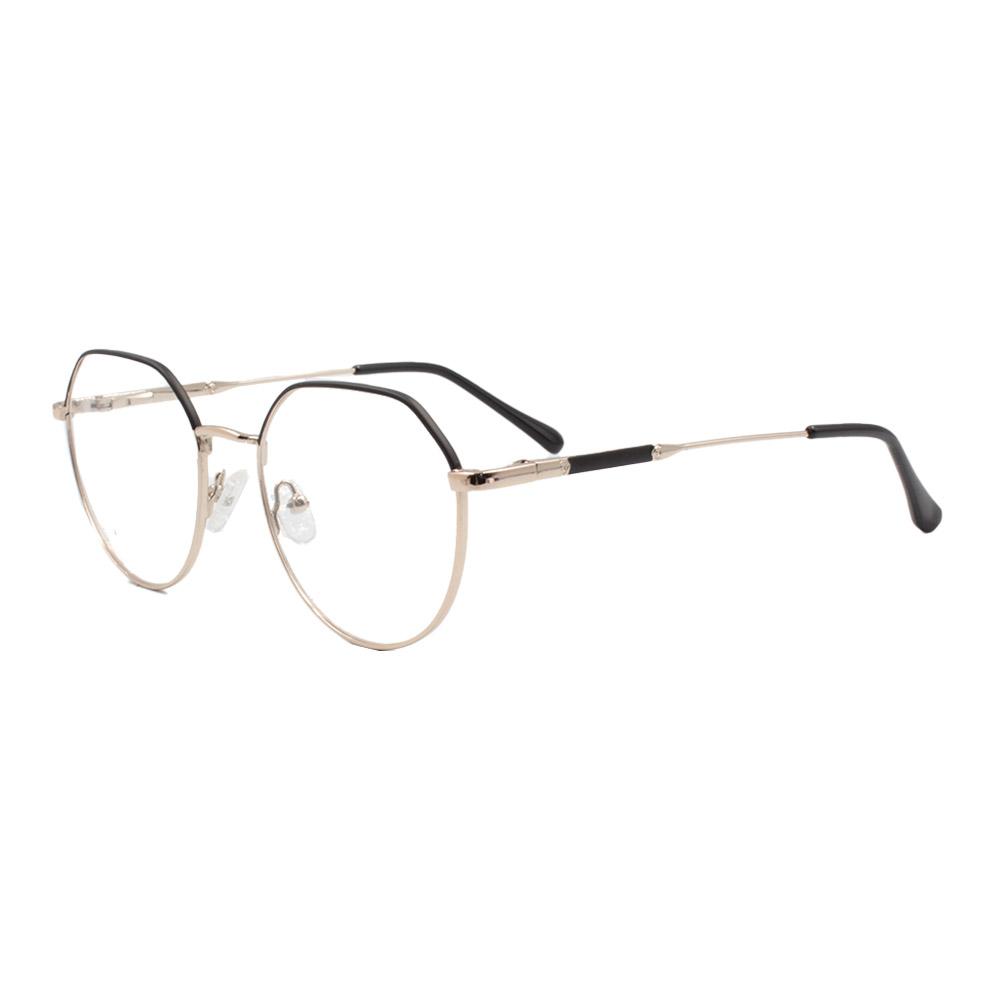 Armação para Óculos de Grau Feminino ISA1037 Dourada e Preta