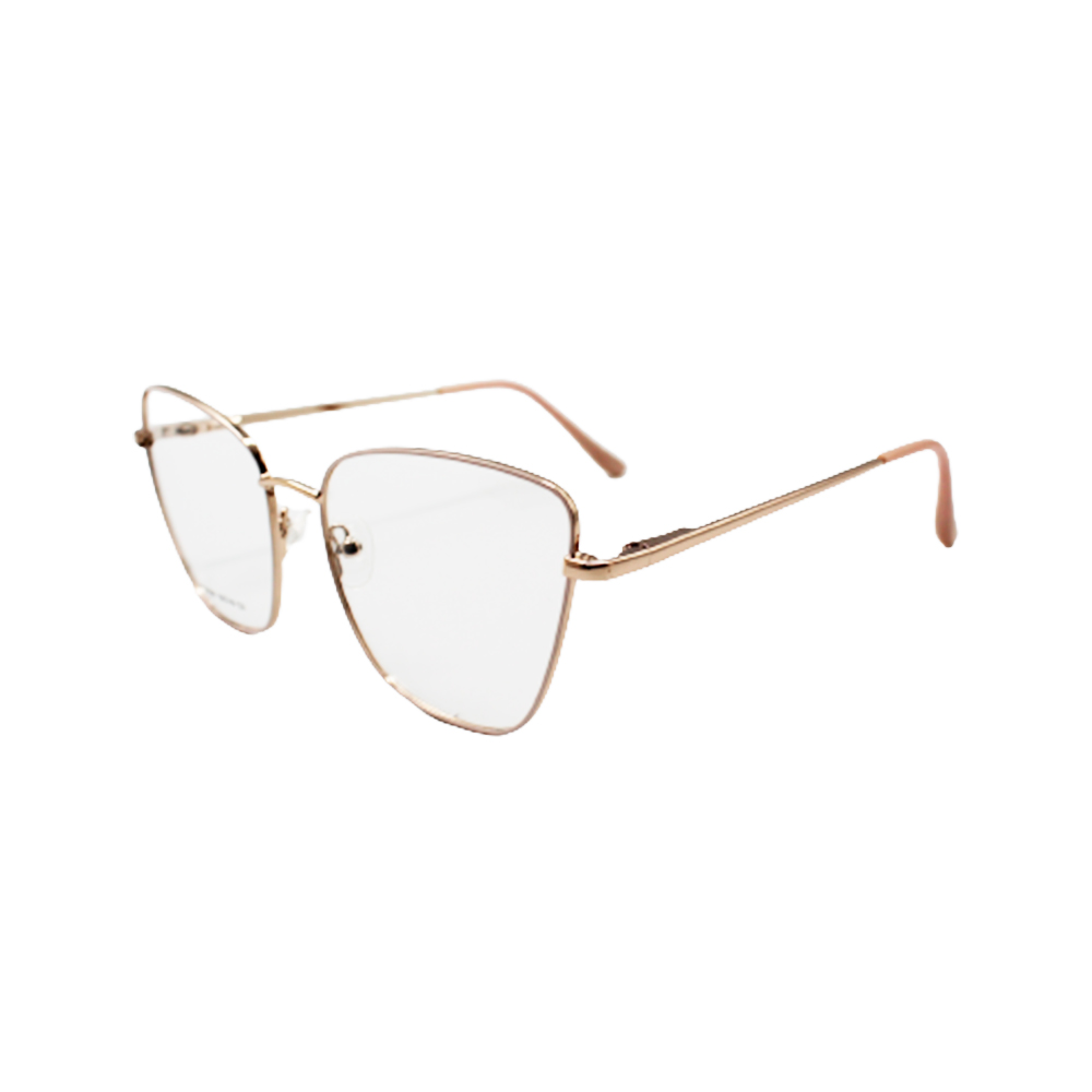 Armação para Óculos de Grau Feminino ISA1061-C3 Dourada e Nude