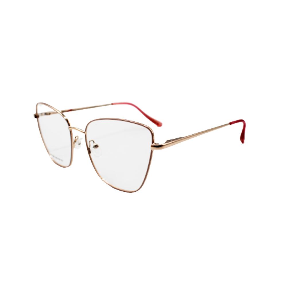 Armação para Óculos de Grau Feminino ISA1061-C4 Dourada e Vinho