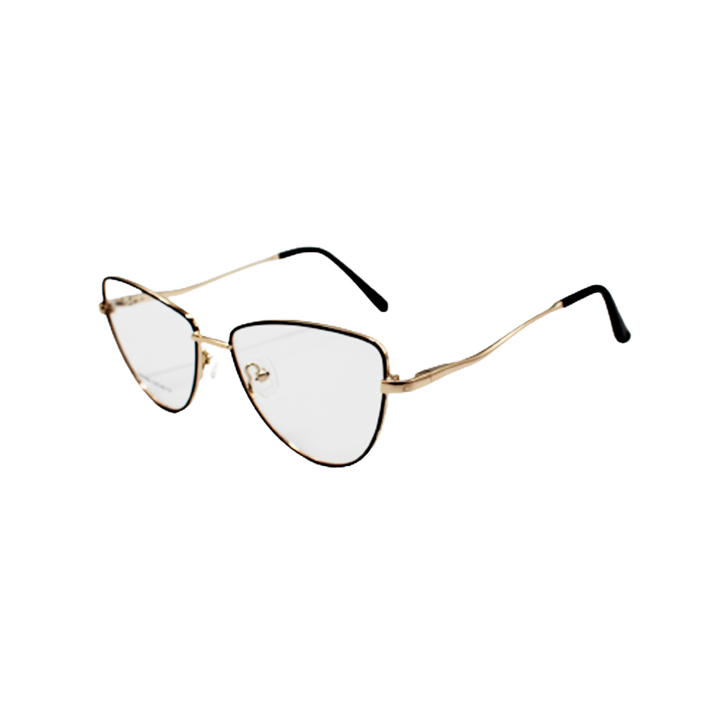 Armação para Óculos de Grau Feminino ISA1062-C1 Dourada e Preta