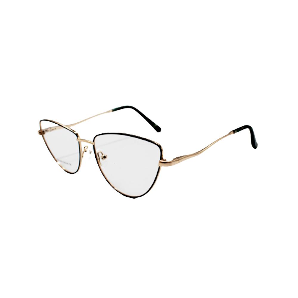 Armação para Óculos de Grau Feminino ISA1062-C6 Dourada e Verde