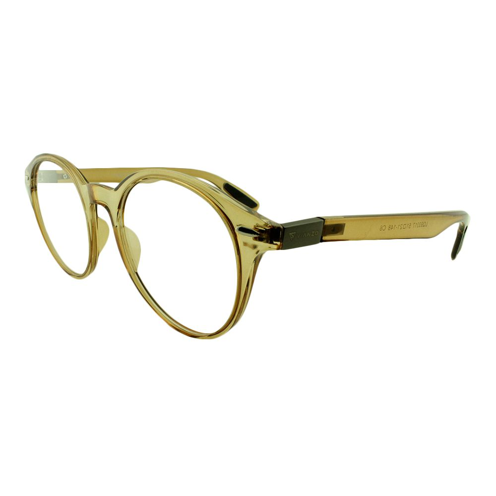 Armação para Óculos de Grau Feminino LQ93317 Bege Vianzo