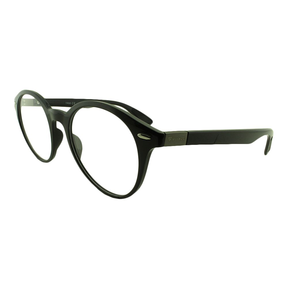 Armação para Óculos de Grau Feminino LQ93317 Preta Vianzo